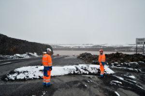 Kainuun Vasemmiston mukaan entisen Talvivaaran, nykyisen Terrafamen Sotkamon kaivoksen alasajon työllisyysseuraukset eivät ole millään tukipaketeilla ratkaistavissa, koska korvaavia teollisia työpaikkoja ei ole osoittaa. (Arkistokuva: Tero Kaikko)